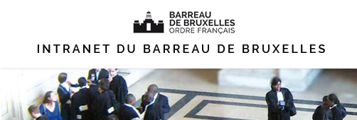 Intranet Barreau de Bruxelles